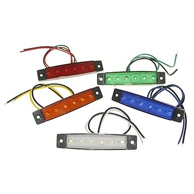 tanie Światła samochodowe-SENCART 1 sztuka Ciężarówka / Motor / Samochód Żarówki 1.5 W SMD LED 120 lm 6 Światła zewnętrzne Na Univerzál Wszystkie roczniki