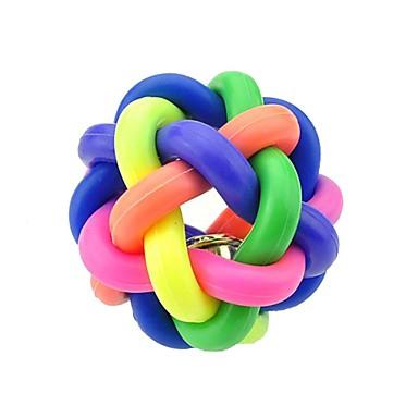 olcso Cicajátékok-Golyó Rágójátékok Nyüszítő játékok Bells Cicajáték Kutyajátékok Házi kedvencek Játékok 1 Móka Gumi Ajándék