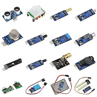 voordelige Arduino-accessoires-diy 16 in 1 sensor module kit voor frambozenpi