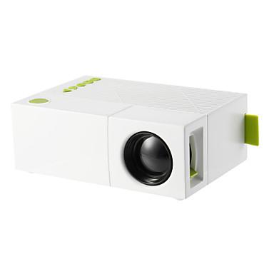 olcso Audió & videó kiegészítők-yg310 mini hordozható lcd projektor házimozi usb sd av hdmi 600 lumen 1080p hd led hordozható projektor