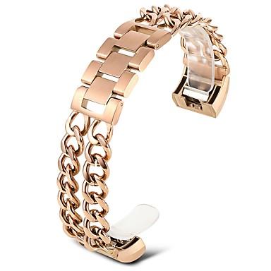 رخيصةأون قيود ساعات-الفولاذ المقاوم للصدأ حزام حزام إلى ذهبي روزي 20cm / 7.9 Inches 1.8cm / 0.7 Inches