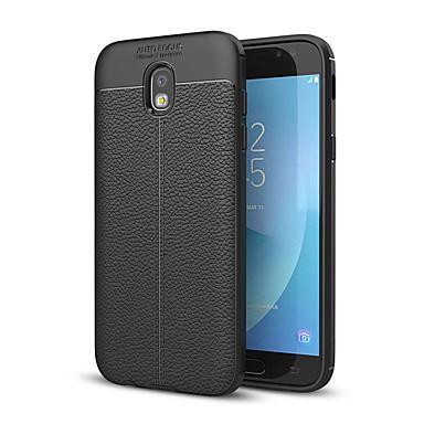 رخيصةأون حافظات / جرابات هواتف جالكسي J-غطاء من أجل Samsung Galaxy J7 Prime / J7 (2017) / J5 Prime ضد الصدمات غطاء خلفي لون سادة ناعم سيليكون