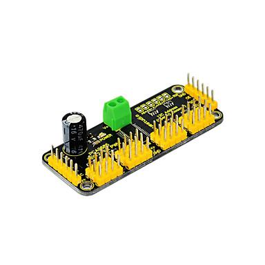 [$4 69] 2016 NEW! Keyestudio 16-Channel Servo Drive Board with12-BIT  PWM-12C Interface for Arduino