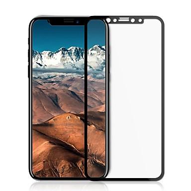voordelige iPhone X screenprotectors-AppleScreen ProtectoriPhone X High-Definition (HD) Volledige behuizing screenprotector 1 stuks Gehard Glas