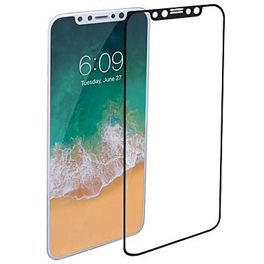 voordelige iPhone X screenprotectors-AppleScreen ProtectoriPhone X 2.5D gebogen rand Voorkant screenprotector 1 stuks Gehard Glas