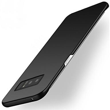Недорогие Чехлы и кейсы для Galaxy Note 3-Кейс для Назначение SSamsung Galaxy Note 8 / Note 5 / Note 4 Матовое Кейс на заднюю панель Однотонный Твердый ПК