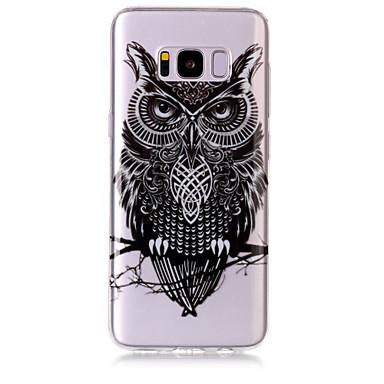 رخيصةأون حافظات / جرابات هواتف جالكسي S-غطاء من أجل Samsung Galaxy S8 Plus / S8 / S7 edge IMD / شفاف / نموذج غطاء خلفي بوم ناعم TPU