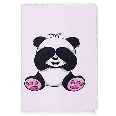 رخيصةأون أغطية أيباد-غطاء من أجل Apple ايباد ميني 5 / iPad New Air (2019) / iPad Air محفظة / حامل البطاقات / مع حامل غطاء كامل للجسم باندا قاسي جلد PU / iPad Pro 10.5 / iPad (2017)