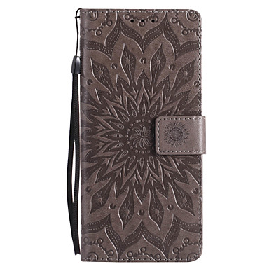 cheap Galaxy Note 3 Cases / Covers-Case For Samsung Galaxy Note 8 / Note 5 / Note 4 Wallet / Card Holder / with Stand Full Body Cases Mandala Hard PU Leather