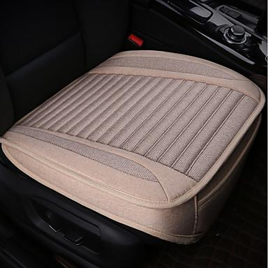 abordables Housses de Siège & Accessoires de Véhicule-Coussins de siège auto 1 pièce coussins de siège polyester noir commun pour universel