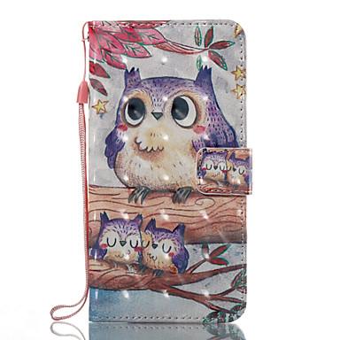 رخيصةأون حافظات / جرابات هواتف جالكسي J-غطاء من أجل Samsung Galaxy J7 (2017) / J7 (2016) / J5 (2017) محفظة / حامل البطاقات / مع حامل غطاء كامل للجسم بوم قاسي جلد PU