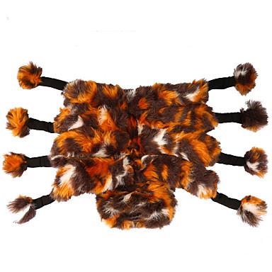 povoljno Odjeća za psa i dodaci-Pas Kostimi Pauci Zima Odjeća za psa Halloween Kostim Pliš Životinja Cosplay S M L