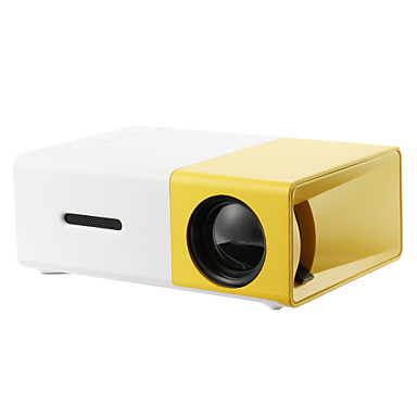 olcso Audió & videó kiegészítők-yg300 házimozi mozi usb hdmi sd mini hordozható hd led lcd projektor otthoni média film lejátszó támogatása 1080p av, usb, sd kártya, 320 x 240 hdmi / usb / av / cvbs otthoni iskolai irodához