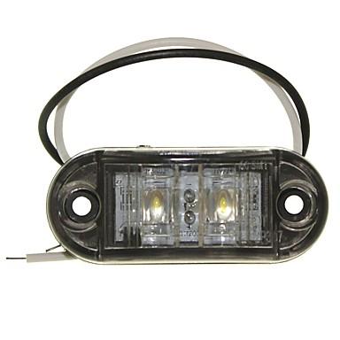 voordelige Motorverlichting-SENCART Vrachtwagen / Motor / Automatisch Lampen 1W Dip LED 90lm 2 Exterieur Lights For Universeel Alle jaren