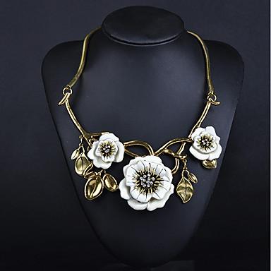 56bd32792f3 Femme Fleur Personnalisé Fleur Bohème Bijoux Fantaisie Fait à la Main  Elégant Mode Adorable Ajustable Colliers Déclaration Diamant de 6200819 2019  à €16.99