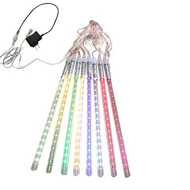 levne Dovolená dekorační světlo-hkv® 30cm trubice led meteor sprcha déšť světla rampouch sníh dešťová kapka lampa pro vánoční vodotěsný napájecí adaptér