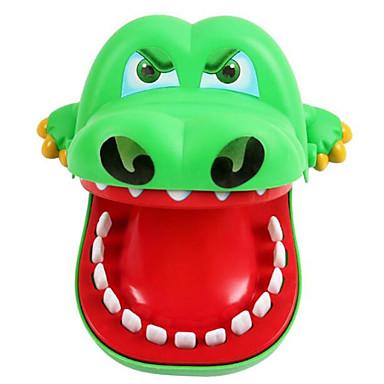 olcso Társasjátékok-Krokodil fogászat Professzionális Nagy méret Biting Hand Halak Krokodilbőr utánzat Műanyagok Gyermek Felnőttek Uniszex Fiú Lány Játékok Ajándék