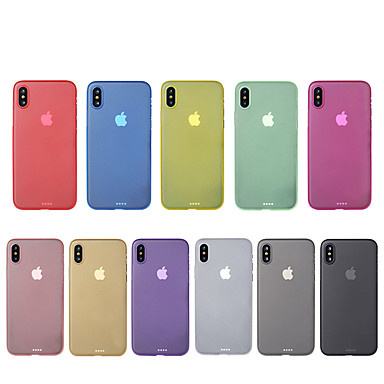 For IPhone X 8 Case Cover Ultra Thin Back Solid Color Hard PC Apple Plus 7 6224384 2018 399