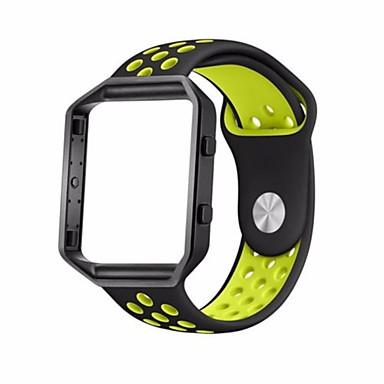 Недорогие Аксессуары для смарт-часов-Ремешок для часов для Fitbit Blaze Fitbit Спортивный ремешок Pезина Повязка на запястье