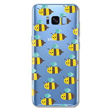 voordelige Galaxy S-serie hoesjes / covers-hoesje Voor Samsung Galaxy S8 Plus / S8 Patroon Achterkant Tegel / Cartoon / dier Zacht TPU voor S8 Plus / S8 / S7 edge