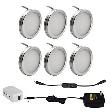 olcso LED csillárok-ONDENN 1set 2 W 1800 lm 18 LED gyöngyök Dekoratív Munkalapvilágítás Meleg fehér Hideg fehér 85-265 V Otthoni Otthon / iroda Gyerekszoba / CE