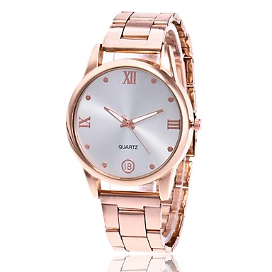 Hombre Mujer Reloj de Pulsera Cuarzo Metal Plata   Dorado   Oro Rosa Reloj  Casual Analógico Encanto Clásico Reloj de Vestir - Dorado Plata Oro Rosa  6303342 ... 38719eed7810