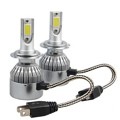 voordelige Autokoplampen-2pcs H7 Automatisch Lampen 36W W COB 3800lm lm 2 Koplamp ForUniverseel Alle Modellen Alle jaren