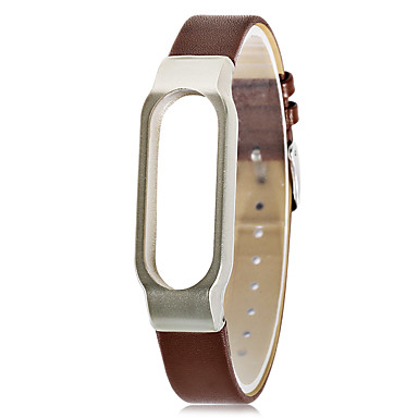 cheap Smart Activity Trackers & Wristbands-Xiaomi Wristbands XIAOMI2 Wristbands Wearable Leather Brown / Red / Light Brown