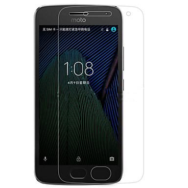 olcso Motorola képernyővédők-MotorolaScreen ProtectorMoto G5 High Definition (HD) Kijelzővédő fólia 1 db Edzett üveg