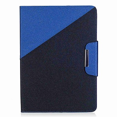 voordelige Samsung-hoes voor tablets-hoesje Voor Samsung Galaxy / Tabblad Een 9.7 Volledig hoesje / tablet Cases Kleurenblok / Landschap Hard PU-nahka