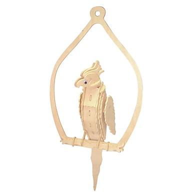 قطع تركيب3D / تركيب / مجموعات البناء حيوان الاطفال / Parrot / اصنع بنفسك خشبي 1 pcs موضة للأطفال هدية