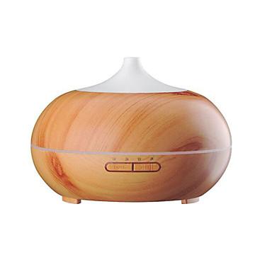 levne Zvlhčovače vzduchu-aromaterapie éterický olej difuzér dřevo zrno ultrazvukové chladné mlha šepot-tichý zvlhčovač s barevnými led světla měnící&4