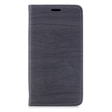 رخيصةأون Xiaomi أغطية / كفرات-غطاء من أجل Xiaomi Xiaomi Redmi Note 4X / Xiaomi Redmi 4A / Xiaomi Redmi 4X حامل البطاقات / مع حامل / قلب غطاء كامل للجسم خطوط / أمواج قاسي جلد PU