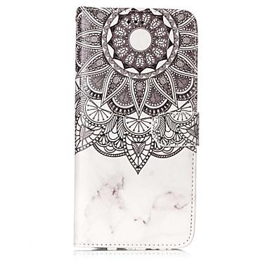 voordelige Galaxy S-serie hoesjes / covers-hoesje Voor Samsung Galaxy S8 Plus / S8 / S7 edge Portemonnee / Kaarthouder / met standaard Volledig hoesje Mandala Hard PU-nahka