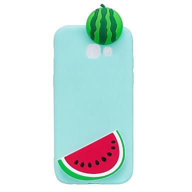 voordelige Galaxy A-serie hoesjes / covers-hoesje Voor Samsung Galaxy A3 (2017) / A5 (2017) / A7 (2017) Patroon / DHZ Achterkant 3D Cartoon / Fruit Zacht TPU