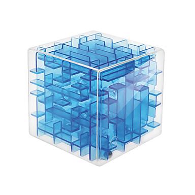 olcso Bűvös kocka-Rubik-kocka 3d labirintus puzzle doboz Divat Barátok Kényelmes Móka Kreatív 1 pcs Négyzet alakú 3D Cubic Twist Gyermek Felnőttek Fiú Lány Játékok Ajándék