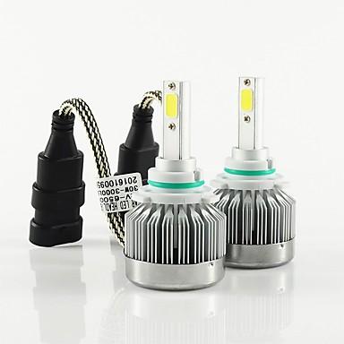voordelige Autokoplampen-2pcs 9003 / H8 / 9006 Automatisch Lampen 30W COB 3000lm 2 Koplamp For Universeel Alle Modellen Alle jaren