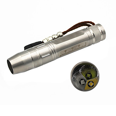 olcso Elemlámpák-ANOWL LED zseblámpák 500 lm - 3 Sugárzók 3 világítás mód Hordozható Könnyű Kempingezés / Túrázás / Barlangászat Mindennapokra Vadászat