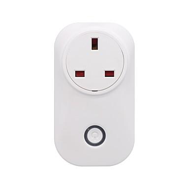 رخيصةأون Smart Plug-sonoff® s20 المملكة المتحدة القياسية واي فاي اللاسلكية مقبس التحكم عن بعد مأخذ الذكية الموقت الذكي المنزل مأخذ الطاقة