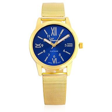 رخيصةأون ساعات النساء-JUBAOLI نسائي ساعة المعصم كوارتز أخضر عرض ساخن كوول مماثل سيدات كاجوال موضة - أزرق داكن أحمر