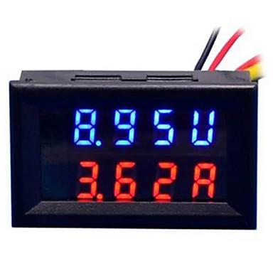 diy praktični dvojni 0,28 inčni 3-znamenkasti crveno plavi vodeni zaslon mjerač napona struje (dc 0 - 100v / 50a)
