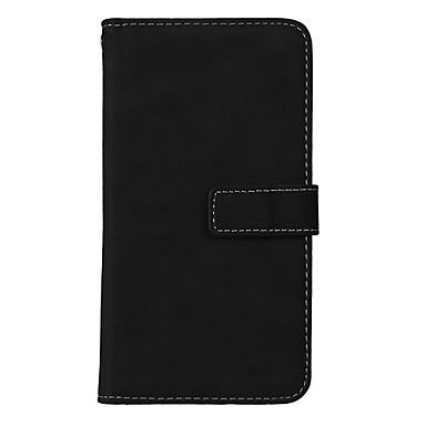 رخيصةأون LG أغطية / كفرات-غطاء من أجل LG K8 / LG / LG G4 LG X Style / LG K10 (2017) / LG K8 (2017) حامل البطاقات / مع حامل / قلب غطاء كامل للجسم لون سادة قاسي جلد PU / LG G6