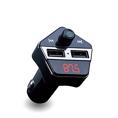 voordelige Bluetooth autokit/handsfree-APE6 V4.2 Bluetooth Auto Kit FM Zenders / Mp3-Speler Automatisch