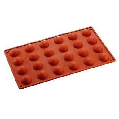 povoljno Pribor za pečenje i gadgeti-1pc Silikon Eco-friendly Uradi sam Torta / kolači Pita Čokoladno smeđa kalupa za pečenje Bakeware alati
