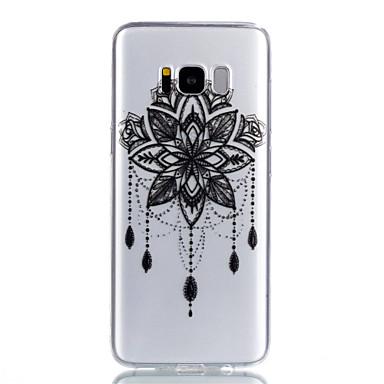 Недорогие Чехлы и кейсы для Galaxy S-Кейс для Назначение SSamsung Galaxy S8 Plus / S8 / S7 edge Прозрачный / С узором Кейс на заднюю панель Ловец снов Мягкий ТПУ