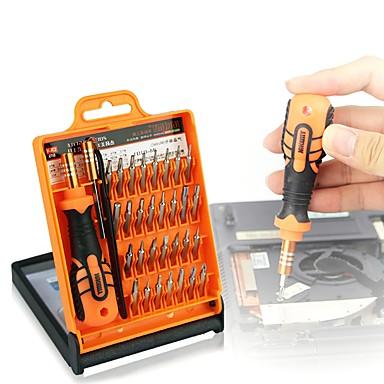 olcso Hálózati teszterek és eszközök-pc telefon javító eszköz 33 in 1 csavarhúzó készlet szétszerelni laptop mobiltelefon tabletta elektronika nyitó javító eszközök