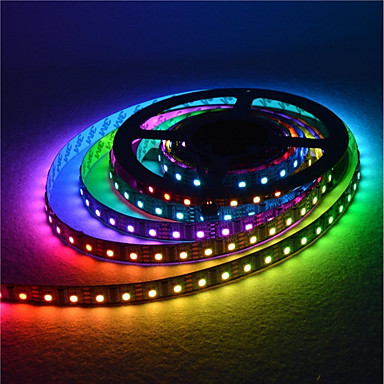 Waterproof 5m Led Strip Light Lamp 300leds 5050smd Rgb Dc5v For Tv