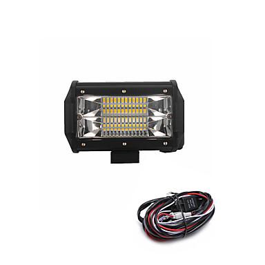 رخيصةأون مصابيح أعمال صيانة السيارات-سيارة لمبات الضوء SMD 3030 7200 lm 24 ضوء العمل من أجل