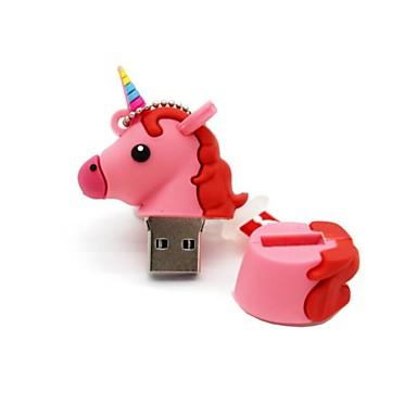 povoljno USB memorije-8GB USB 2.0 crtić jednorog konj usb bljesak voziti disk slatka memorija stick pisac voziti poklon pen drive