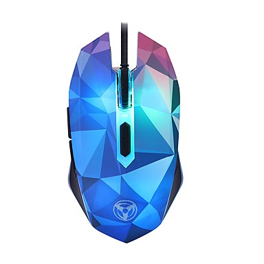 Beautiful  LED Optical USB Wired 3200DPI  Gaming Mouse with Colorful Lights PC